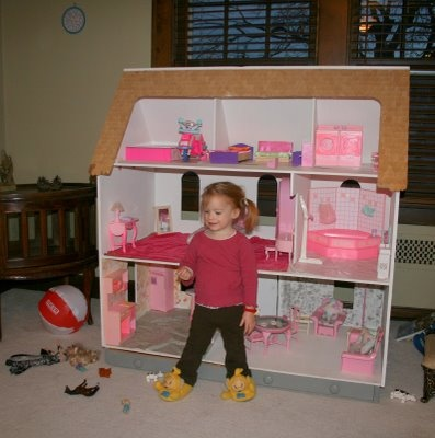 Let me be Blunt.....: A Barbie Doll house