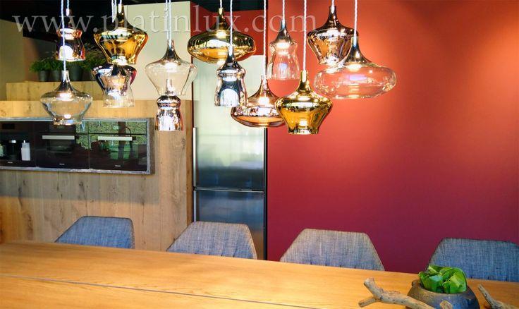 Nostalgia Glass Medium Hängelampe von Studio Italia Design