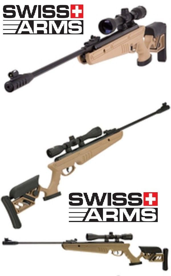 Air Guns and Slingshots 178886: Air Rifle With Scope Swiss