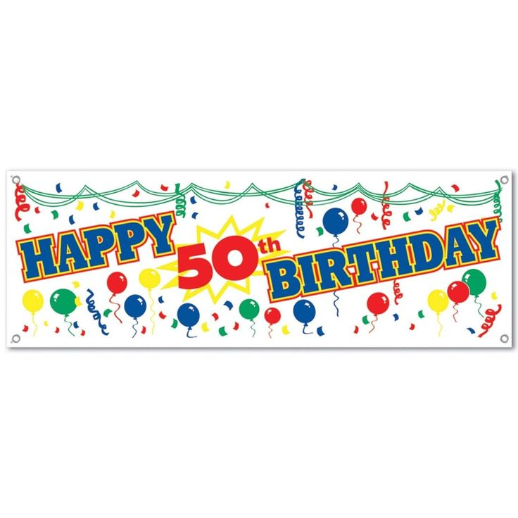 25+ Unique 50th Birthday Banners Ideas On Pinterest