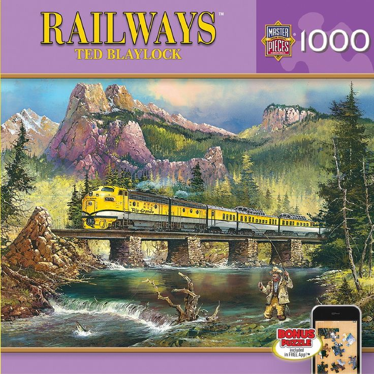 Scenic Express - 1000 Piece Jigsaw Puzzle