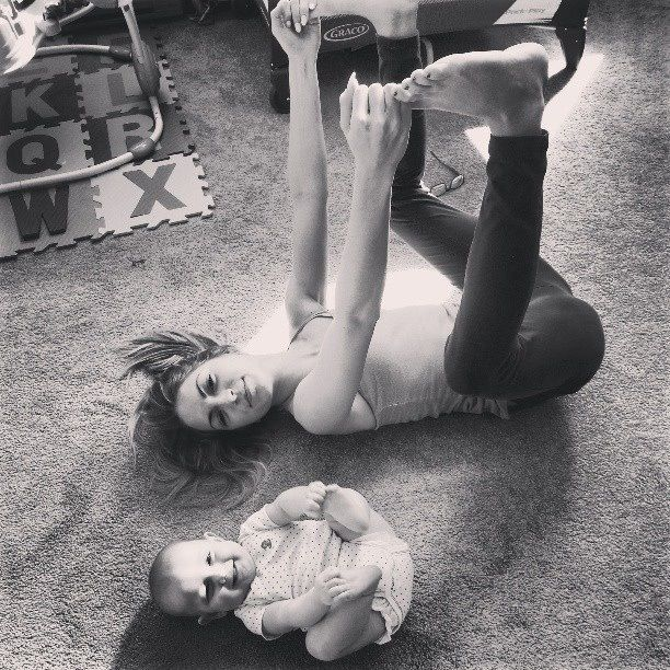 Ananda Balasana . Happy Baby Pose ♥