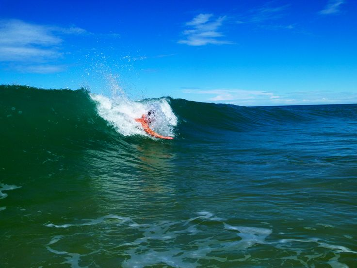 Body-surfing at #LakesEntrance