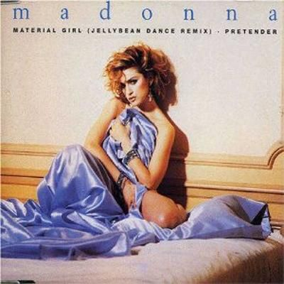 Material Girl was released in 1985 by Madonna - it was a special smash-hit single from her album Like A Virgin.