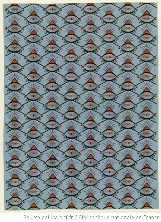 17 meilleures images propos de papier dominot sur pinterest fran ais ca - Papier peint motif ancien ...
