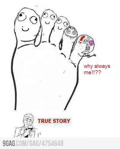 Rage comic feet