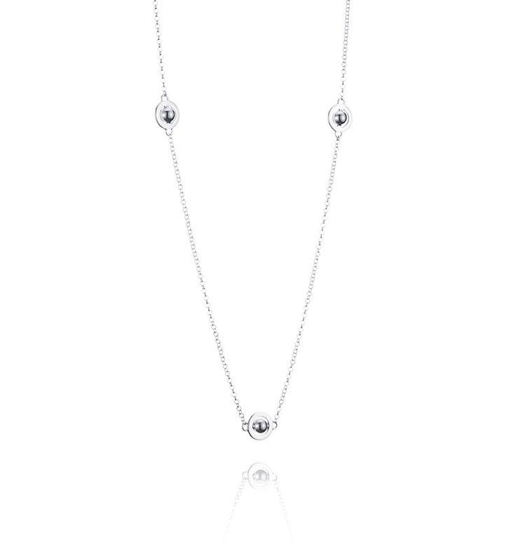Mini 7 Planets - Silver - Halsband - Efva Attling 1900:-