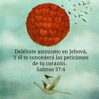 """""""Deleitate asimismo en Jehova, y el te concedera las peticiones de tu corazon."""" #salmos #37:4 Libertad, anhelo, sueños, ilustracion, peticiones, Dios, Jehova y su amor incondicional...♥ te amo Jehova♡"""