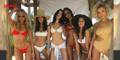 Melekler Bahamalarda : Victorias Secretın en popüler meleklerinden Elsa Hosk Bella Hadid ve Emily Ratajkovvski markanın yeni bikini koleksiyonu için Bahamalarda kamera karşısına geçti. Tüm gün plajda birbirinden seksi pozlar veren modeller boş vakitlerinde su sporları yapmayı ve jet skiye binmeyi de ihmal etm...  http://www.haberdex.com/magazin/Melekler-Bahamalar-da/122599?kaynak=feed #Magazin   #Bahamalar #seksi #pozlar #birbirinden #Tüm