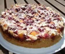 Rezept Himbeer-Aprikosen-Kuchen von Sternengold - Rezept der Kategorie Backen süß