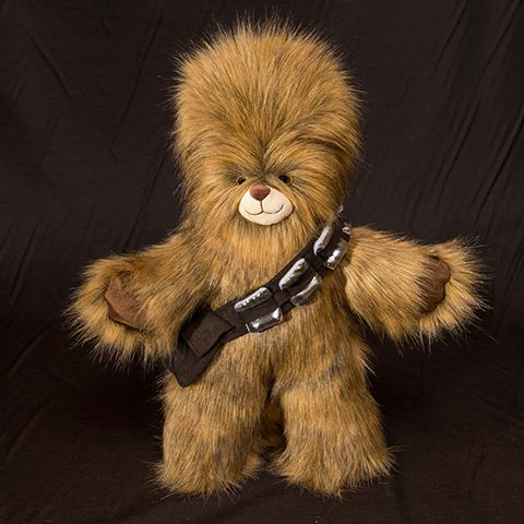 "BAB Wookie or Sasquatch Costume Sewing Pattern by Nina Caporale http://www.ninapower.info/shop/bab-wookie-costume-pattern For Build A Bear Workshop toys between 14"" to 16"" tall, and similar soft toys.  Duffy the Disney Bear, Cabbage Patch, etcetera..."