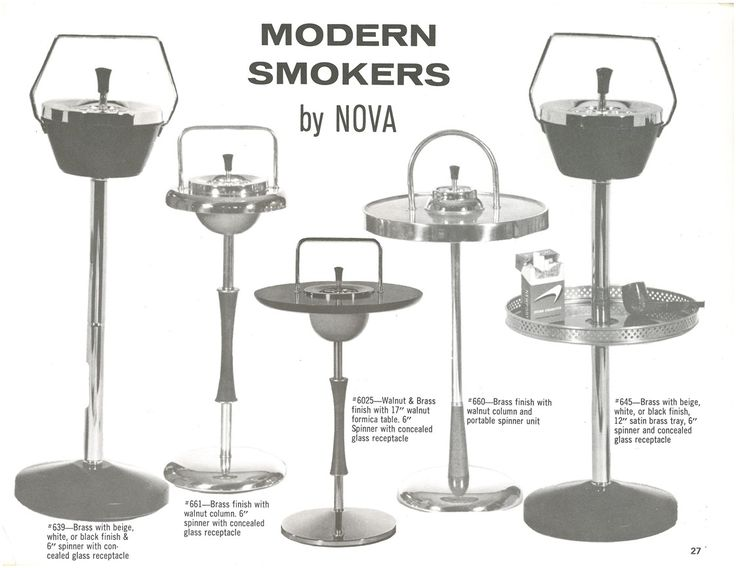 NOVA 1971 Catalog cover--colorful and contemporary. Modern Smokers were all the rage in NOVA's smoke filled days. #Catalog #NovaLegacy #modern