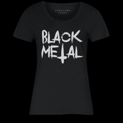 BLACK METAL | WOMENS TEE