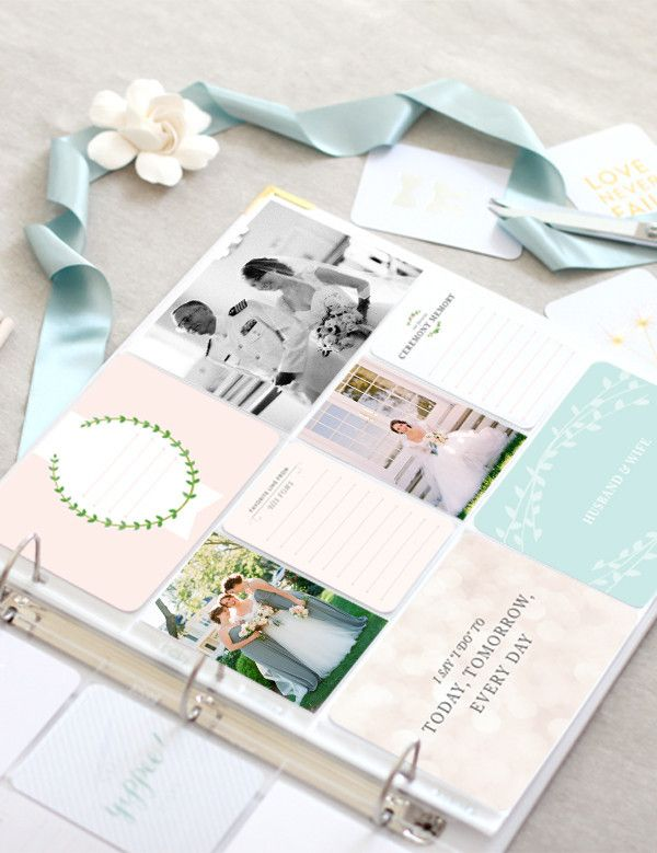 Cherish your meaningful married life memories with the Southern Weddings Project Life Bundle available in the Southern Weddings Shop!