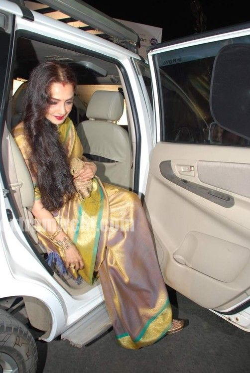 Luv is son of Shatrughan Sinha and he debuts with the film 'Sadiyan' which also stars Rishi Kapoor. See the pics of Bollywood actress Rekha in silk saree at sadiyaan music launch.