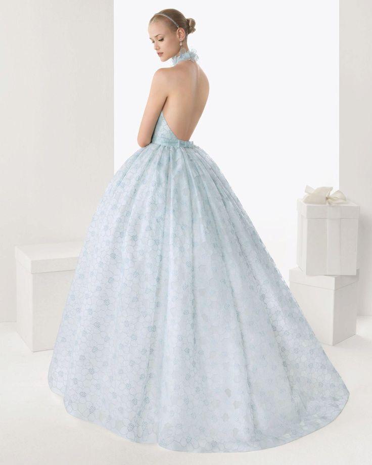 Голубое свадебные платья спб