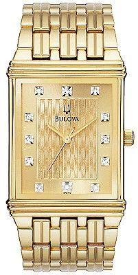 Bulova Men's Diamond Watch 97D102