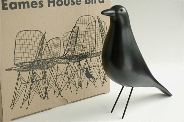 Mint boxed ray charles eames house bird original vitra