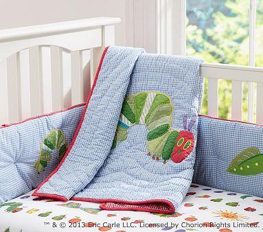 The Very Hungry Caterpillar™ Nursery Bedding #pbkids        i need this!!!!!!!!!!