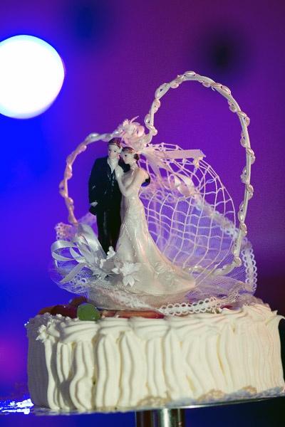 <3 ślub wesele tort