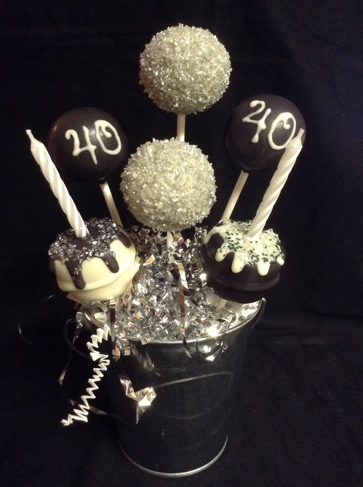 40th Birthday Cake Pops Business Designs Ideas In 2019