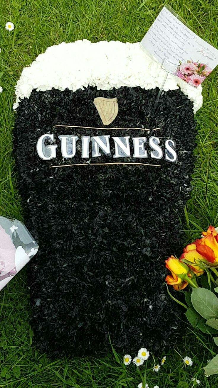 46 best bloomin chic funeral flowers images on pinterest guinness funeral tribute dhlflorist Choice Image