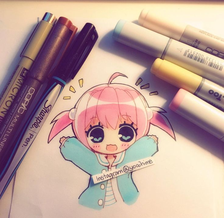 So kawaii! ~ pinterest @pinkmintkay