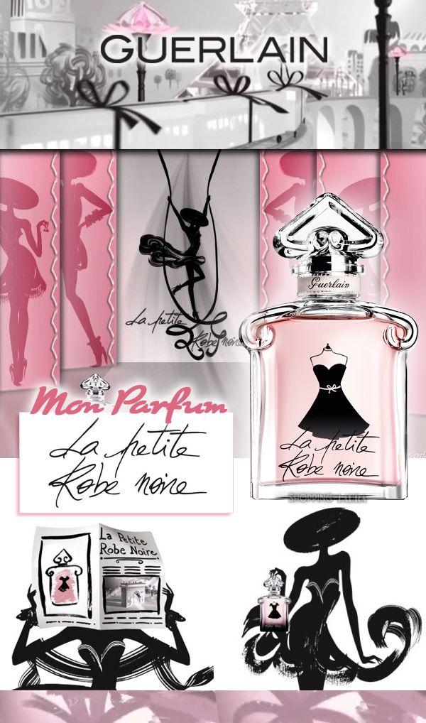 """Voilà une petite révélation dans l'univers du parfum ! Le très fameux """"la petite robe noire"""" de chez Guerlain. Que vous dire ? Je le porte et je l'adore !...On le dit spécialement dédié aux femmes coquine, romantiques, un peu rock'n'roll et surtout très sexy mais toujours élégante ! Qui se reconnait ici ???"""