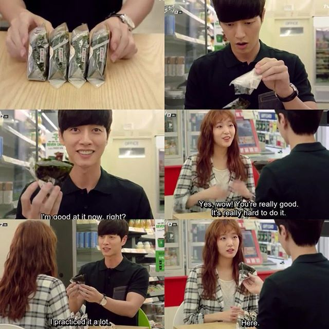 Cheese In The Trap -- He's so proud of himself. #korean #drama