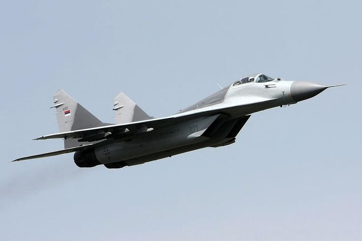 "Serbian Air Force MiG-29 ""Fulcrum"""