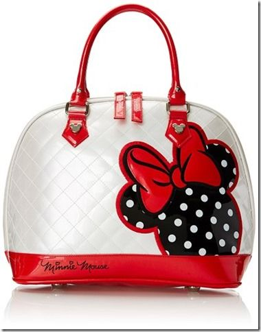 Disney Discovery- Minnie Mouse Quilted Dome Shoulder Bag