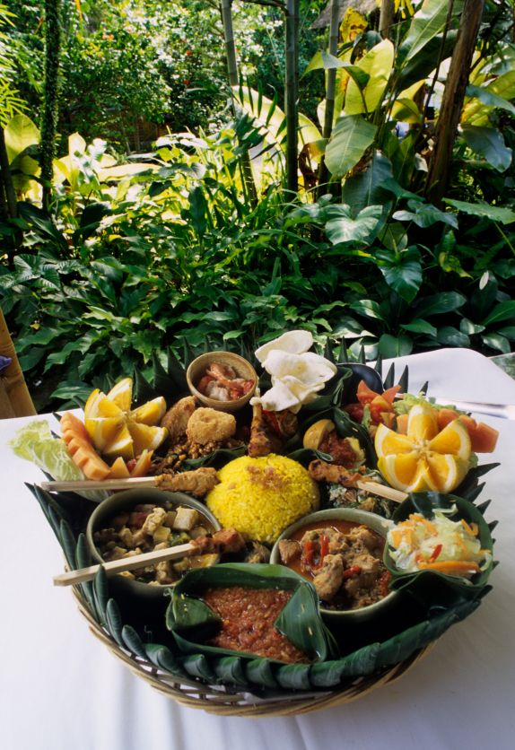 TRADITIONAL INDONESIAN FOOD. We have wonderful Bali adventure tours with top adventure travel companies. Click here: http://www.adventuretravelshop.co.uk/adventure-holidays-asia/bali-adventure-tours/