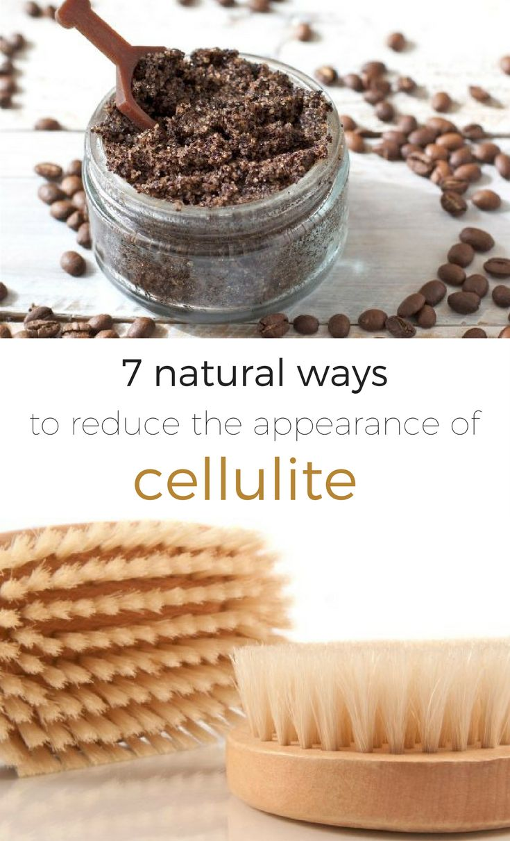 Cellulite: It's an unfortunate fact of life. Here's how to naturally diminish cellulite to smooth those problem areas! // spryliving.com