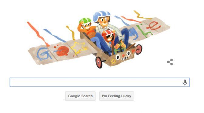 Peringatan Hari Ayah ala Google Doodle