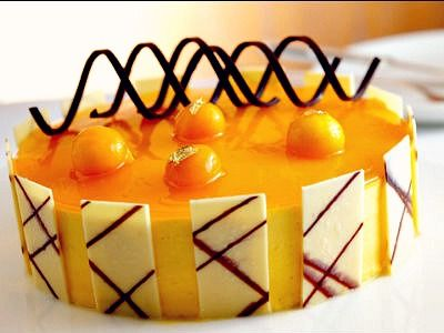 #Orange #Mousse - nothing more summery than this! #summerdesserts