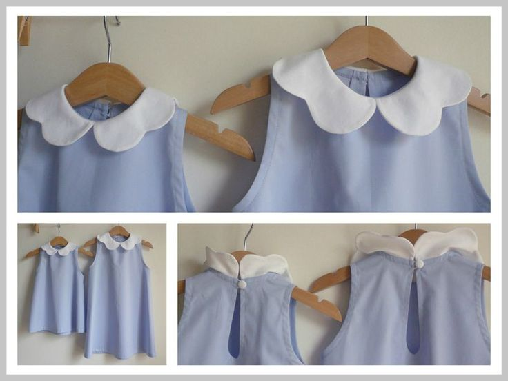 scalloped collars