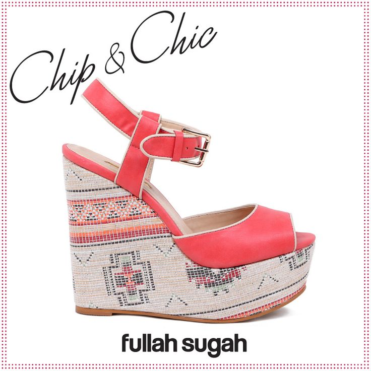 Chip & Chic Ethnic πλατφόρμα | Από €54.90 τώρα €35.90 Shop now at: http://bit.ly/XVBeUZ  #sales #wedges #shoes