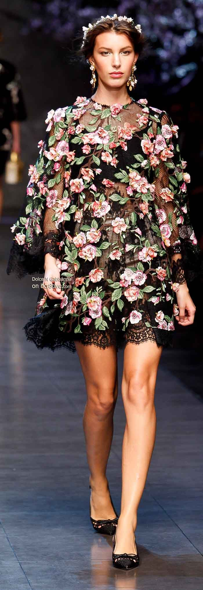 Dolce & Gabbana Spring 2014 | The House of Beccaria