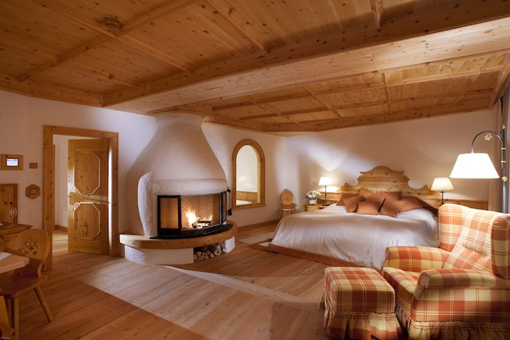 Luxury hotel suite at Bio-Hotel Stanglwirt in Tirol Austria