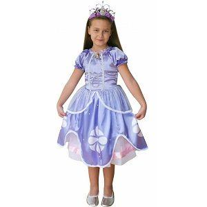 4-6 yaş Disney Prenses Sofia Çocuk Kostümü, en değişik doğum günü hediyeleri, herkesekostum Prenses Sofia Kostüm 4-6 Yaş