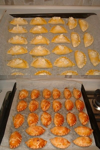 Turkish Savory Pastry _ Pogaca