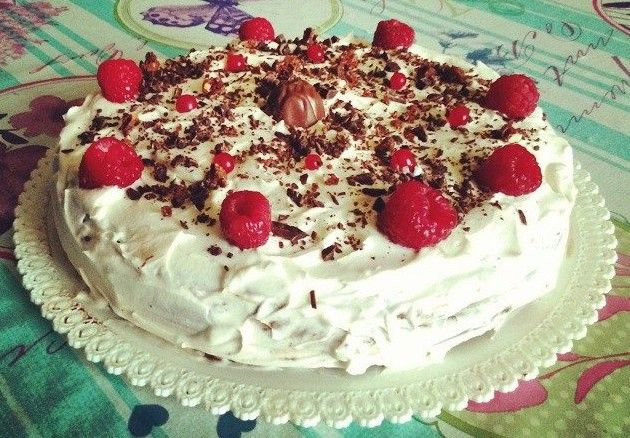 """Golosa """" torta biscottata al cioccolato"""""""