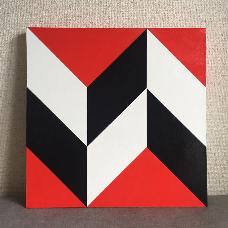 #art #artwork #abstract #abstractart #minimal #minimalism #modern #modernism #design #painting #geometric #contemporaryart #sapporo #japan