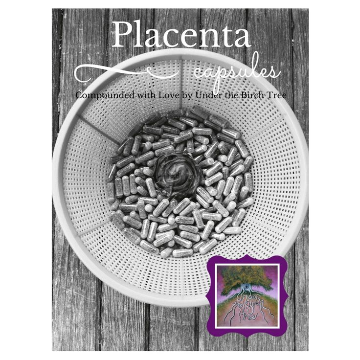 Placenta capsules and little cord keepsake. Compounded with love by Samantha  Birch of Under the Birch Tree