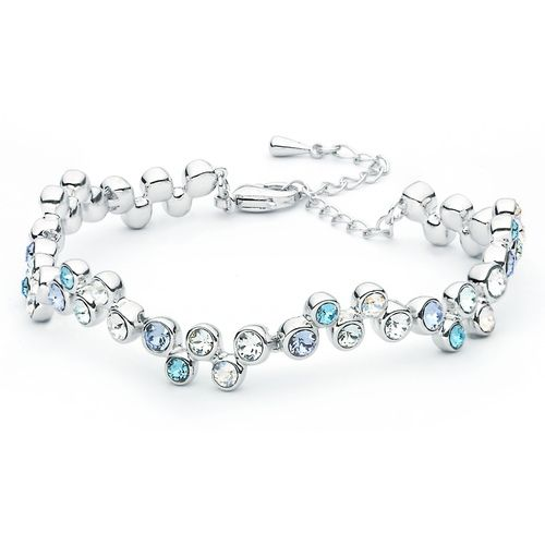 Fidelity Blue Bracelet with Swarovski® Crystals