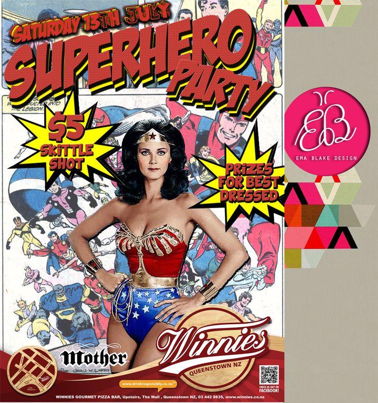 Winnies Super Hero Party   Queenstown   NZ