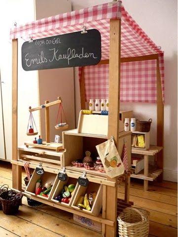 caractériELLE: DIY : de petites marchandes pour les filles