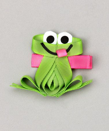 Frog. Glue this one on a hairpin.