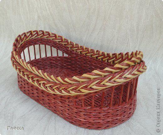 Поделка изделие Плетение Кошкин дом и не только Трубочки бумажные фото 4