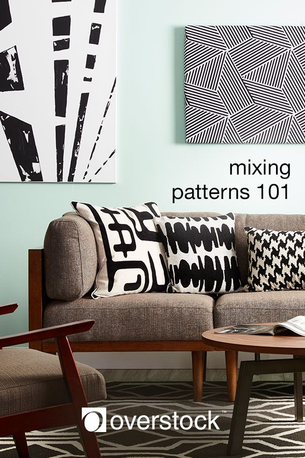 Learn how to mix and match patterns like an expert with these interior design tips and tricks.